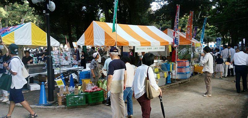 上越市安塚区のテント