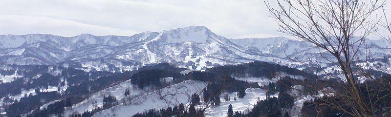 菱ヶ岳、冬