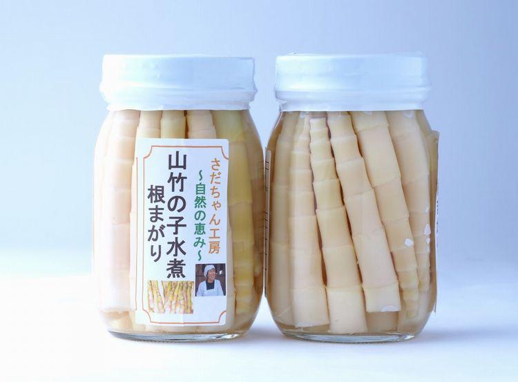 根曲り竹の水煮