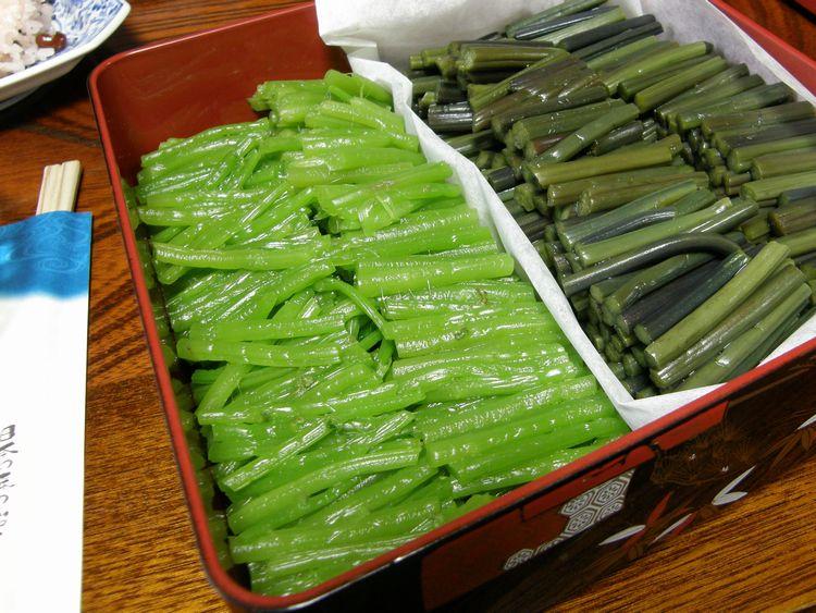 ミズ・沢菜の漬物